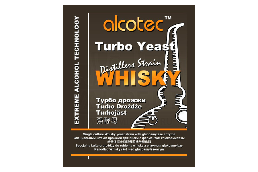 Дрожжи Alcotec Whisky Turbo 73г