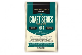 Дрожжи Mangrove Jack's US WEST COAST YEAST M-44 10г
