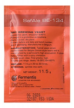 Дрожжи Fermentis SafAle BE-134 11.5г