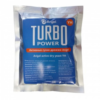 Дрожжи Angel Turbo Power 250г