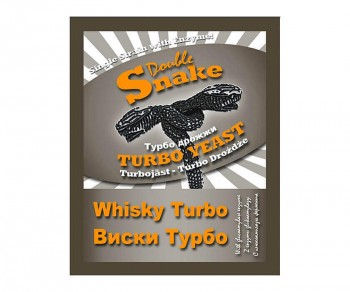 Дрожжи DoubleSnake Whisky Turbo 70г
